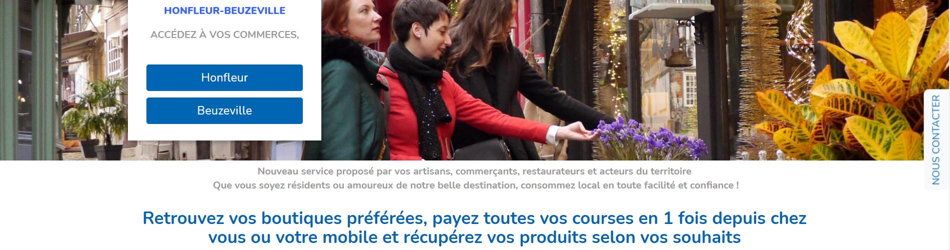 Afin de répondre aux nouvelles pratiques d'achat et à la crise sanitaire, la Communauté de Communes du Pays de Honfleur-Beuzeville (CCPHB) a mis en ligne ce 1