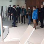 Ce lundi 15 mars 2021, Michel Lamarre, accompagné d'une délégation d'élus de la CCPHB, a dédié la journée à la visite des centres aquatiques 1